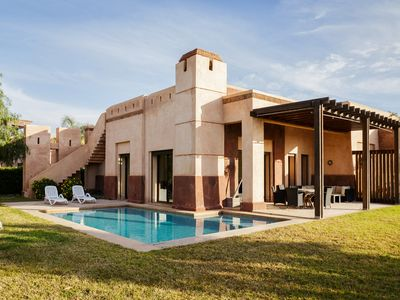 3 bedroom villa with private pool for 6 people close to Marrakesh