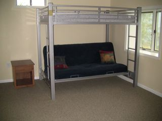 Futon / bunk beds, downstairs - Edinburg house vacation rental photo