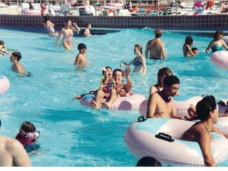 North Woodstock condo photo - Having fun in the Wave Pool at Whale's Tale