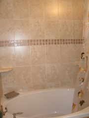 Cayman Brac townhome photo - .Master ensuite with waterfall faucet.