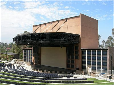 Moonlight Amphitheatre is an open air theater