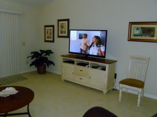 The Villages house photo - Living room with 51 inch Plasma HD TV
