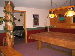 Jay Peak cabin photo - Bedroom off Gameroom