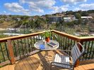 Greet the day from your own private deck