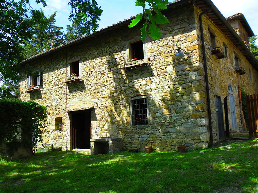 Very charming Tuscan farmhouse in the HomeAway Panzano in Chianti