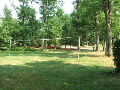 large level lot ideal for all kinds of outdoor activities
