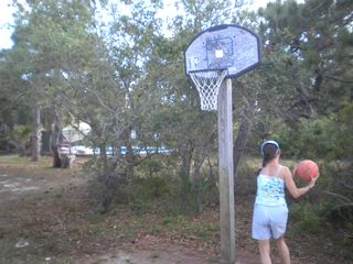 St George Island house photo - Kids' basketball - 8 ft.high basket