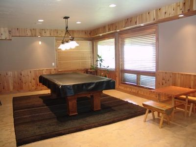 Snowbird lodge rental - Pool table