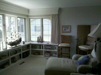 Harbor Springs house rental - Lounge or also referred to SHIP'S ROOM