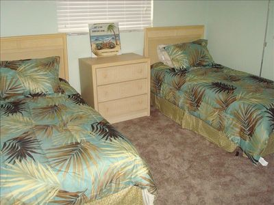 "Cape Coral house rental - Third BR - Twin Beds with 19"" LCD TV"