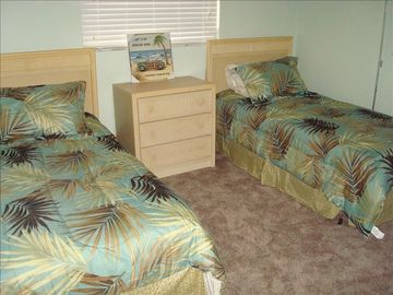 "Third BR - Twin Beds with 19"" LCD TV"