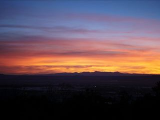 Taos house photo - horizon sunset