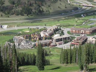 Copper Mountain condo photo - East Village from the slopes in summer