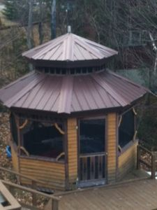 Gazebo off Deck