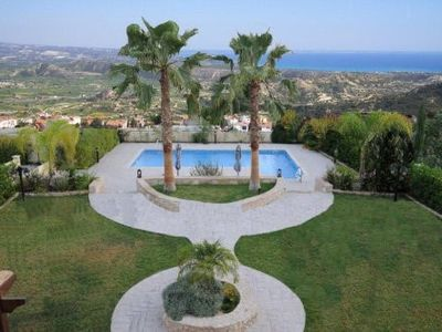 Pissouri Village villa rental - Uninterrupted sea view