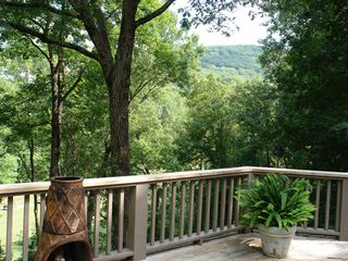 Big Canoe house photo - Beautiful mountain views from deck areas.