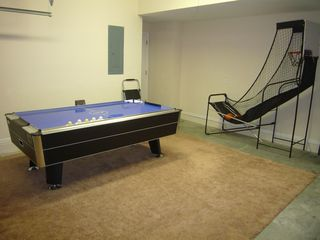 Highlands Reserve house photo - Air Hockey & Basketball in Garage