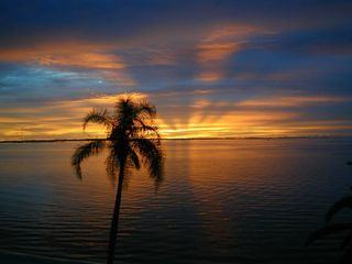 The end of another perfect day. - Cat Island house vacation rental photo