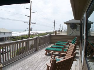 Surf City house photo - BACK DECK 2