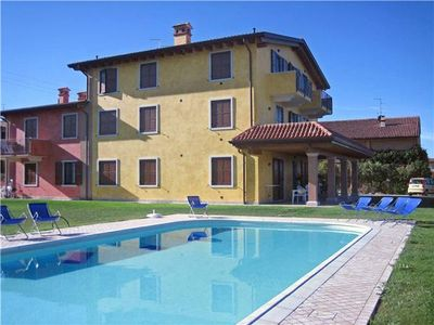 Apartment for 5 people, with swimming pool, in Lazise