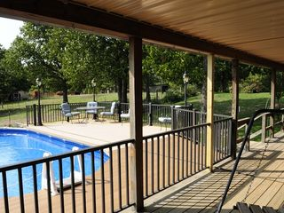 Macks Creek cabin photo - The Swimming Pool and Deck.