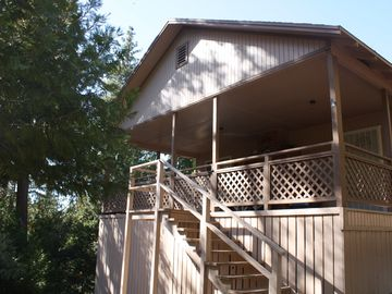 Camp Nelson cabin rental - Forest Cabin
