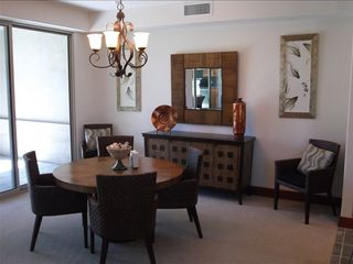 Dining room right off kitchen and access to lanai.