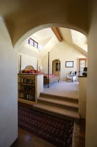 Coronado house rental - Master suite with (2) walk in closets