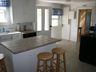Falmouth house photo - The kitchen comes with all the necessary amenities for your families cooking.