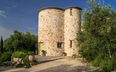 Thyme Tower luxery stone Tower,with private pool and stunning sea view