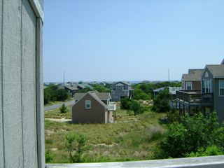 Kitty Hawk townhome photo - View of Atlantic Ocean from Sundeck (Top Floor)