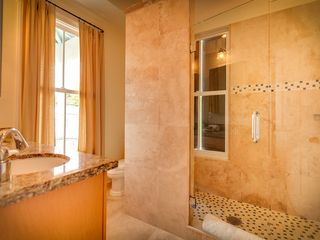 Key West house photo - The 4th bathroom has granite counters and over-sized custom shower.
