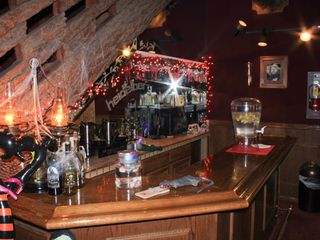 June Lake condo photo - 'Bar/Lounge Area at The Heidelberg Inn