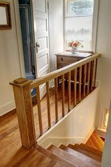 Glenn cottage photo - beautiful wood floors and banister