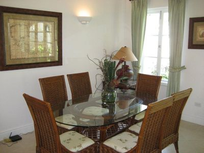 Holetown house rental - Dining Area
