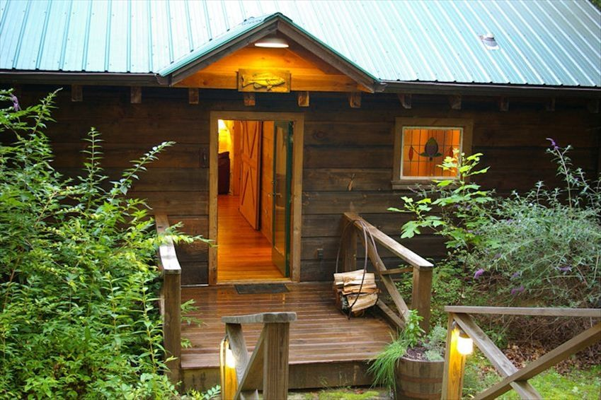 Secluded Cabin With Hot Tub Walking Trails Vrbo