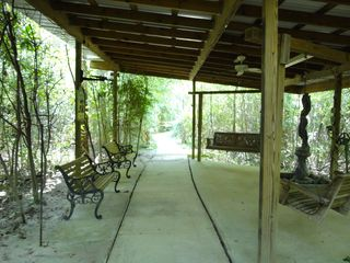 Gulfport house photo - Concreted path is on adjacent property my family owns. Vac Guests are welcome!