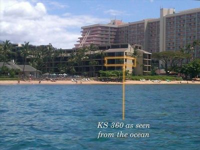 KS 360 as seen from the ocean