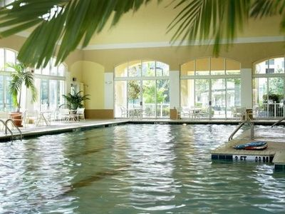 Ocean Creek's indoor pool - open year around
