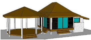 3D view of the facilities - Moorea bungalow vacation rental photo