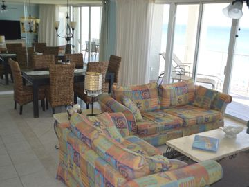 Long Beach Resort condo rental - Amazing view and exceptional living space.