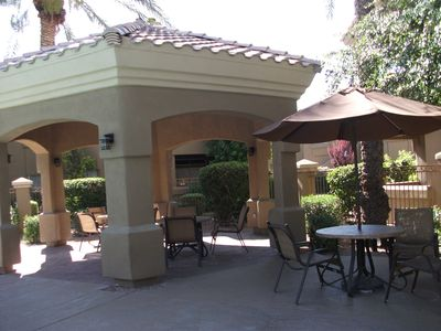 gazebo & bar-b-cue area