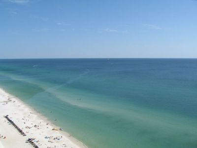 Gulf Resort Beach condo rental - Amazing blue water!
