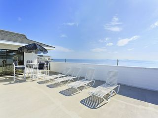 Flagler Beach house photo - Your own private sundeck, ideal for sunbathing and dining.