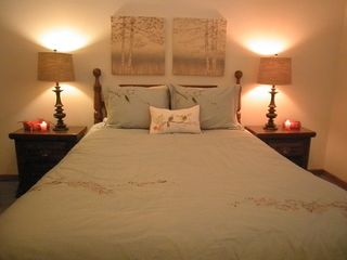 Pittsfield condo photo - Queen sized bed and newly decorated!