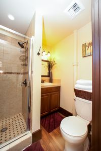 Anaheim house rental - Private Shower in Bedroom 2