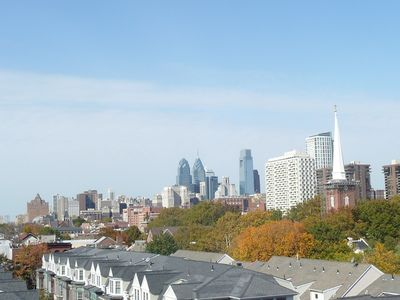 Fantastic Penthouse Views of Center City, Walk to All City Sights