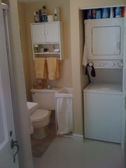 Truro cottage photo - Bathroom with Washer/Dryer