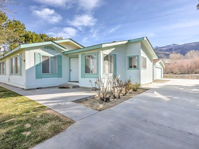 NEW! 3BR Bishop House w/ Mesmerizing Nature Views!