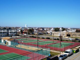 Wildwood Crest condo photo - Tennis Across Street
